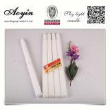 南アフリカ共和国への高品質25cm White Flute Candle
