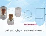 Cassa allentata della polvere della bottiglia del vaso del contenitore cosmetico cosmetico delle estetiche (YELLO-167)