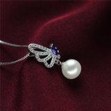 Insieme reale d'acqua dolce d'argento nuziale della perla di Caldo-Vendita