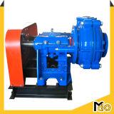 pompe centrifuge horizontale mue par courroie de la boue 6inch avec le moteur
