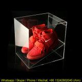 Boîte de présentation acrylique de bonne qualité de chaussure