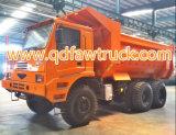 FAW 50 tonnellate che estraggono l'autocarro con cassone ribaltabile