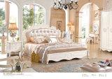 フランスの寝室セット、ドレッサー、ワードローブ、寝室の家具(6001)