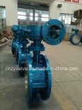 API/DIN/GOSTの鋳造物鋼鉄Dn400 Py25風変りな蝶弁(D343H-DN400-25C)