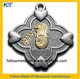 Metallo personalizzato con doppio colore di placcatura di Pantone