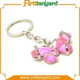 Kundenspezifisches Basisrecheneinheits-Form-Metall Keychain