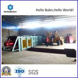 こんにちはBaler Companyからの紙くずの自動梱包機械