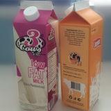 dreieckiger Karton der frischen Milch-1L mit Aluminiumfolie