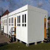 De prefab Huizen van de Container voor WoonSoluiton