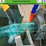 Weiche Belüftung-transparente Stahldraht-Spirale-Schlauchleitung-Extruder-Maschine