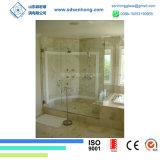 Freie Säure ätzte das Schieben Frameless der ausgeglichenes Glas-Dusche-Tür
