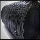 Fil de relation étroite recuit par noir de roulis de Bwg18 25kg
