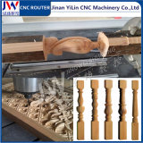木製の広告の石のための回転式軸線の木工業CNCのルーター
