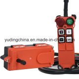 Telecrane Tipo F21 Series Single Speed ​​Push Button Transmissor F21-4s Industrial Wireless Crane