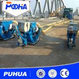 Máquina móvil de la limpieza de la ráfaga de tiro de la superficie de la carretera concreta