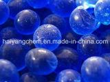 Azul do gel de silicone
