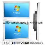 red completa de 3G WiFi HD que hace publicidad del quiosco de la pantalla del LCD de la visualización