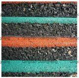 Квадрата плитки настила спортов плитка резиновый резиновый рециркулирует настил резиновый спортивной площадки циновки резиновый