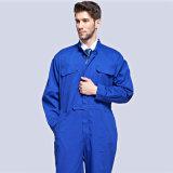 Le bleu de mode colore la combinaison de vêtements de travail uniforme