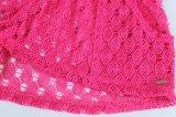 Dame-bilden reizvoller Häkelarbeit-Kurzschluss F 100%Polyester