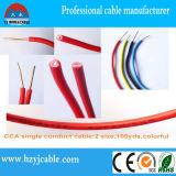 電源コード固体ケーブル100%銅PVC H07V-U BVはケーブルで通信する