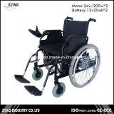 2016 Leichtgewichtler-Aluminium-faltender Lithium-Batterieleistung-elektrischer Rollstuhl