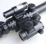 portata tattica del fucile illuminata 3-9X40 con il laser rosso & la vista olografica del PUNTINO