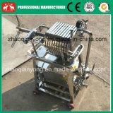 Máquina inoxidável da imprensa de filtro do petróleo da placa