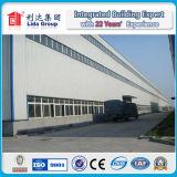 Bâtiment galvanisé par coût bas de structure métallique
