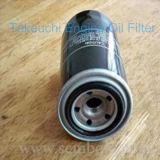 Motor ar/óleo/filtro petróleo de Feul/Hdraulic para Takeuchi Tb140c, máquina escavadora de Tb175c/carregador/escavadora