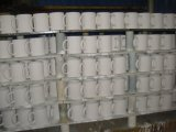 Tazza di caffè di ceramica promozionale con stampa di marchio del cliente