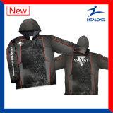 UV-Protection Digital faite sur commande de Healong estampée pêchant des chemises
