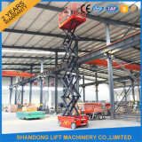 ciseaux Lift Elevator d'Individu-Propelled de 250kgs Durable Structure