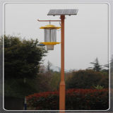 Pluie Control Solar Insect Killer Lamp avec Patented Flicker