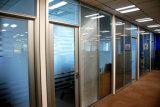 Cloisons de séparation en verre démontables en aluminium pour le bureau, salle de réunion