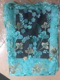 Ткань шнурка вышивки 3 d Beaded для красивейшего платья
