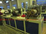 PVC 3 컬러 인쇄기를 가진 단 하나 가장자리 밴딩 밀어남 기계