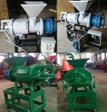 Máquina de extrusão de estrume de vaca Esgoto de aves de capoeira Desidratação Deidrata de lodo de estrume