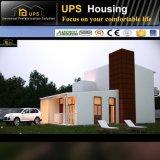 Villas préfabriquées favorables à l'environnement vertes de nécessaire de modèle modulaire de coût bas