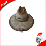 Chapéu de palha, chapéu de Sun, chapéu de palha da arremetida, chapéu de palha grande da borda