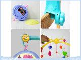 Jouets électriques de mobiles de bébé de musique avec des ferraillements de tissu