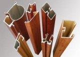 Perfil de madeira do alumínio da grão da extrusão do material de construção