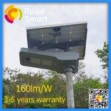 luz de rua solar completa de alta qualidade do sensor de movimento do diodo emissor de luz 40W