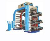 Presse typographique large de Flexo de sac de bande de papier continu de la couleur Yt-61200 6