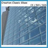 Изолированное стекло Temepered стеклянное /Low-E/Низкое-E Coated стекло здания