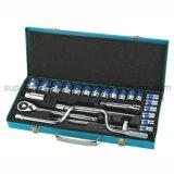 """Qualité Cr-v Socket Wrench Set de Dr. de 24PC 1/2 """""""