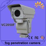 Da sustentação sem fio infravermelha do IR da câmera da penetração da névoa da escala longa do varredor potência solar IP66 de Onvif