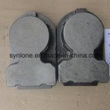 Alloggiamento del metallo del pezzo fuso di investimento del acciaio al carbonio di disegno dell'OEM