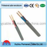 Cabo liso, cabos elétricos de Wires& com o PVC Sheathed