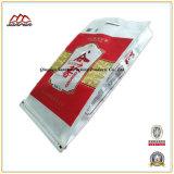 Saco tecido PP da alta qualidade para o empacotamento de alimento da farinha de arroz